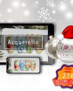 Acquerello Christmas – Corso ONLINE –