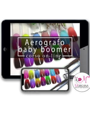 Aerografo Baby Boomer – corso online –