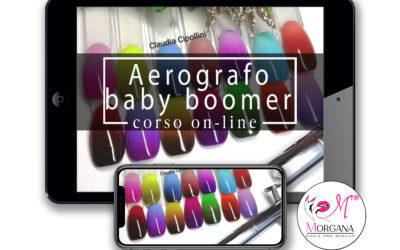Aerografo – baby boomer – corso online –