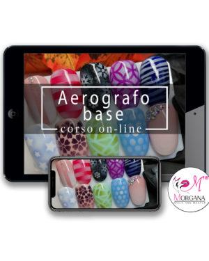 Aerografo base – corso online –