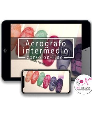 Aerografo intermedio – corso online –